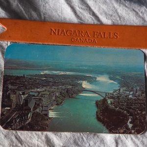 Postcard and bookmark Niagara Falls